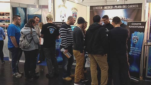 Cenote Adventures Stand Boot 2017
