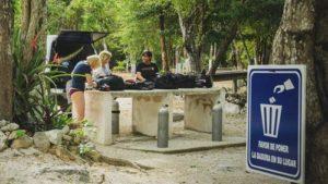 Ausrüstung Cenote Adventures